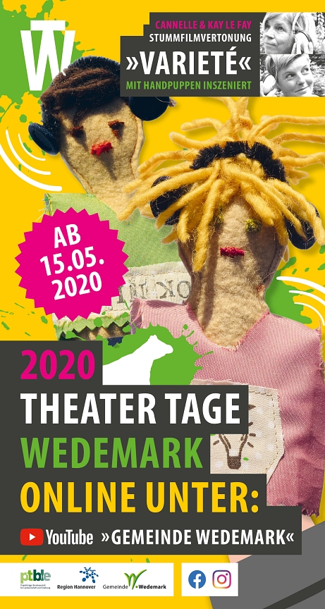 03 Theater Tage Wedemark Cannelle & Kay Le Fay©Gemeinde Wedemark / Cannelle & Kay Le Fay