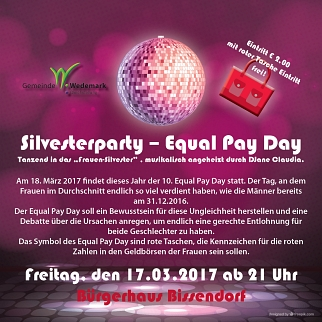 Equal Pay Day © Gemeinde Wedemark