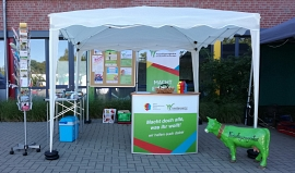Messestand Freiwilligenagentur
