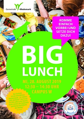 Plakat Big Lunch 2019