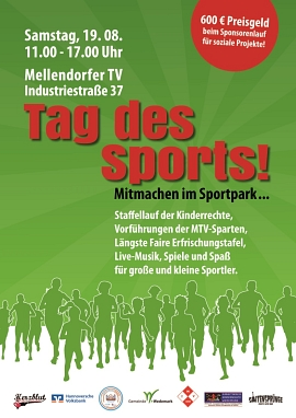 Tag des Sports 17 Plakat